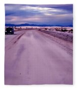 Lonely Road Fleece Blanket