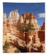 Lonely Trees Fleece Blanket