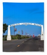 Long Beach Fleece Blanket