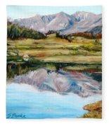 Long Draw Reservoir Fleece Blanket