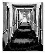 Long Hallway Fleece Blanket