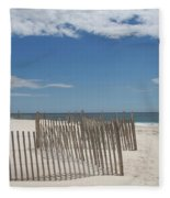 Long Island Beach Fleece Blanket