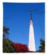 Long Island's Vietnam Memorial Fleece Blanket