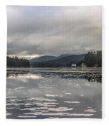 Long Lake Long View Fleece Blanket