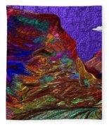 Long Road Home Fleece Blanket