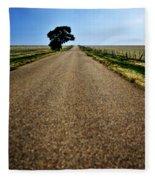 Long Road Fleece Blanket