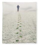 Long Walk Home Fleece Blanket