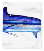 Longbill Spearfish Fleece Blanket