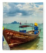 Longboat Asia Fleece Blanket