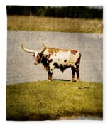 Longhorn Fleece Blanket