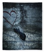 Longing For Love Fleece Blanket