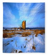 Longing For Some Solitary Company Fleece Blanket