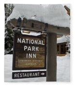 Longmire National Park Inn Fleece Blanket
