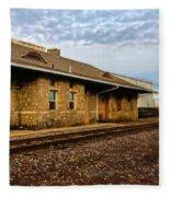 Longmont Depot Fleece Blanket