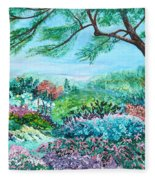 Longwood Gardens Fleece Blanket