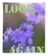 Look Again Fleece Blanket