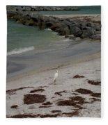 Look Back Bird Fleece Blanket
