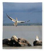Look Ma - I Can Fly Fleece Blanket