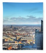 Looking East...the Rand Building Winter 2013 Fleece Blanket