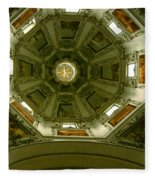 Looking Up Salzburg Cathedral 2 Fleece Blanket