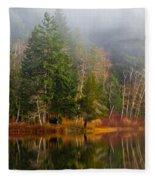 Loon Lake Fleece Blanket