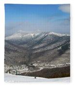 Loon Mountain Ski Resort White Mountains Lincoln Nh Fleece Blanket