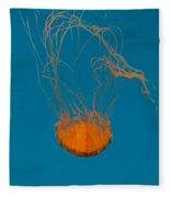 Loop To Loop Orange Nettle Fleece Blanket