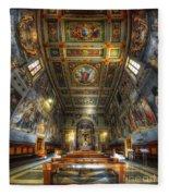 L'oratorio Del Santissimo Crosifisso Fleece Blanket