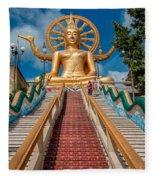 Lord Buddha Fleece Blanket