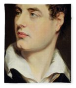 Lord Byron Fleece Blanket