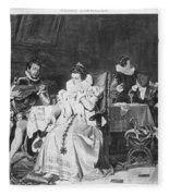 Lord Darnley/mary Stuart Fleece Blanket