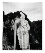 Lord Muruga Fleece Blanket