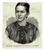 Loreta Janeta Velazquez (1842-1897) Fleece Blanket