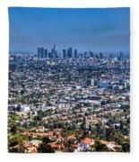 Los Angeles Fleece Blanket