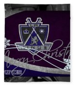 Los Angeles Kings Christmas Fleece Blanket