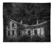 Lost And Alone Fleece Blanket