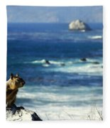 Lost At Sea Fleece Blanket
