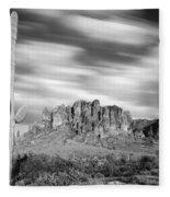 Lost Dutchman State Park - Arizona Fleece Blanket