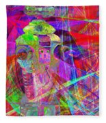 Lost In Abstract Space 20130611 Fleece Blanket