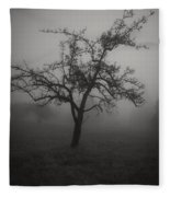 Lost In The Fog Fleece Blanket