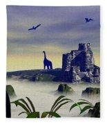 Lost World Fleece Blanket