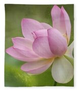 Lotus Dance Fleece Blanket