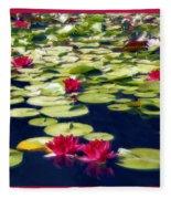 Lotus Dream Fleece Blanket