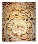 Lotus Legend Fleece Blanket