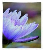 Lotus Love Fleece Blanket