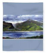 Loughros Bay Ireland Fleece Blanket