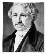Louis Daguerre (1789-1751) Fleece Blanket