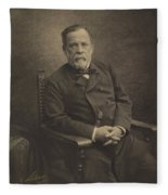 Louis Pasteur Fleece Blanket