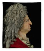 Louis Xiv 1638-1715 1706 Mixed Media Fleece Blanket