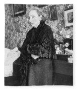 Louise Michel (1830-1905) Fleece Blanket